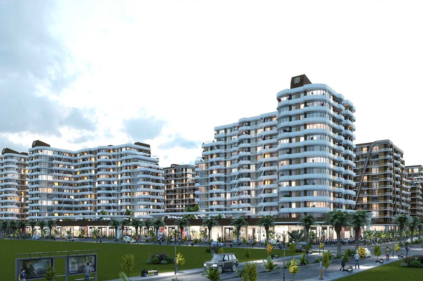 Apartments with garden in Istanbul